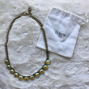 J. Crew Iridescent Crystal Necklace